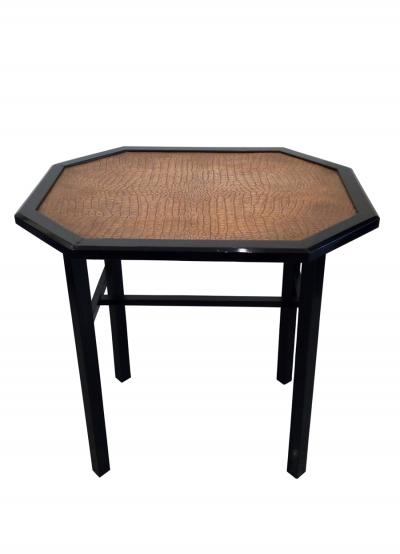 Jugendstil Tisch mit Kupferplatte @galleryeight