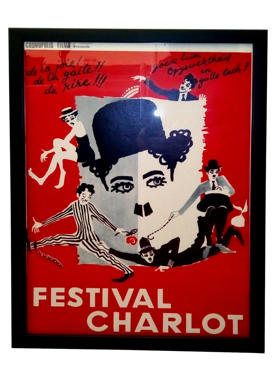 Filmplakat Charlie Chaplin Festival Charlot @galleryeight