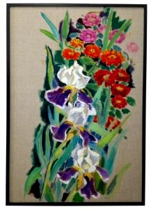 Harald Scheicher - Iris und Zinnien @galleryeight