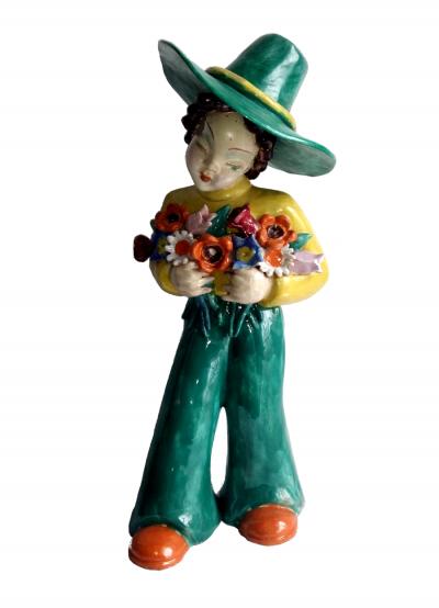 Junge mit Blumen @galleryeight