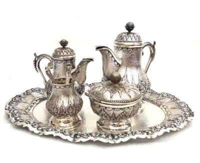 Kaffee Set Silber @galleryeight