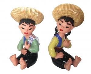 Sitzendes mexikanisches Paar @galleryeight