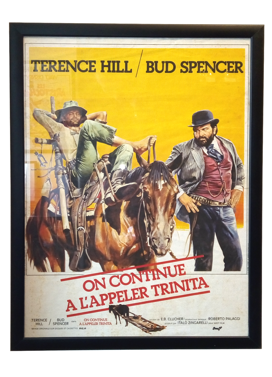 Filmplakat - Terence Hill Bud Spencer @galleryeight