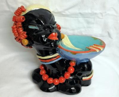 Keramik Kopf Obstschale @galleryeight
